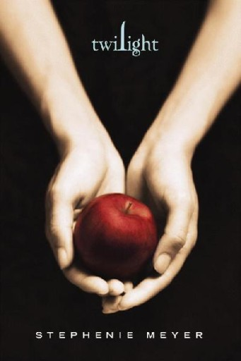 "Copertina di ""Twilight"" di  Stephenie Meyer."