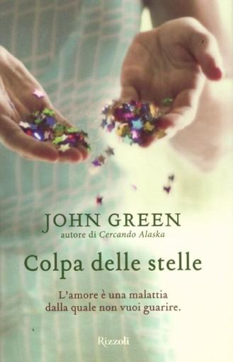 """Copertina di """"Colpa delle Stelle"""" di John Green"""